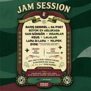 Jam Session 2021 Poster